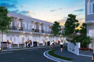 Hình ảnh về nhà phố liền kề tại Solar City Trần Anh