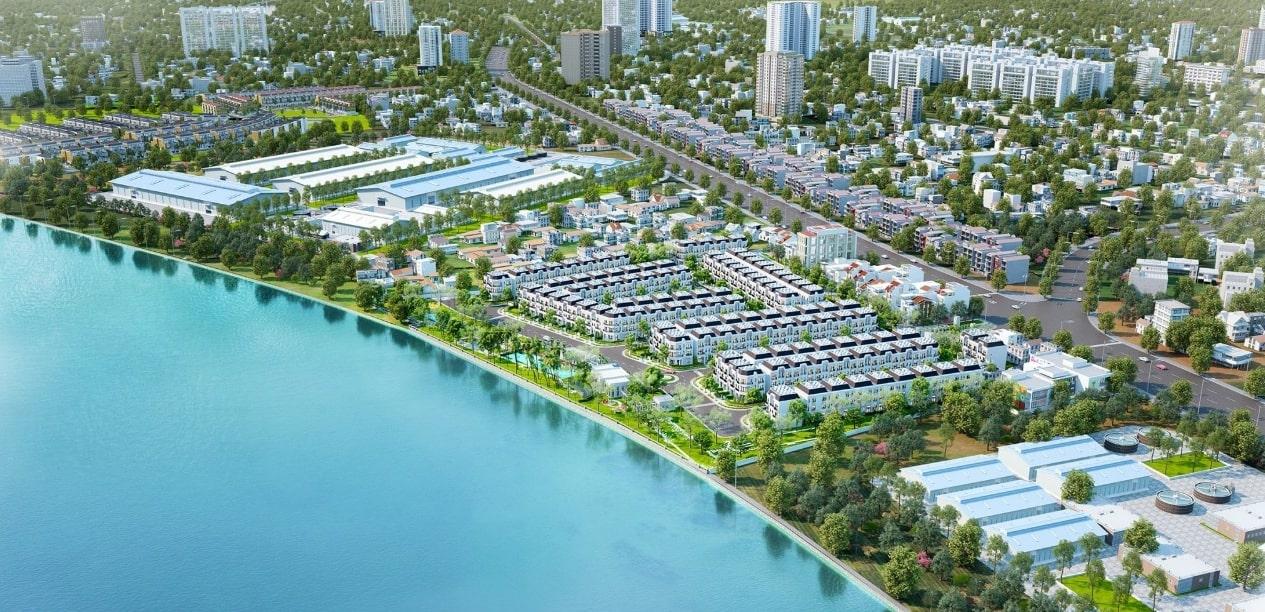 Solar City tọa lạc tại vị trí đẹp ven sông