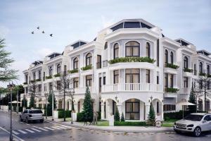 Phối cảnh khu nhà mặt phố Solar City thu hút lượng lớn nhà đầu tư và cư dân trẻ