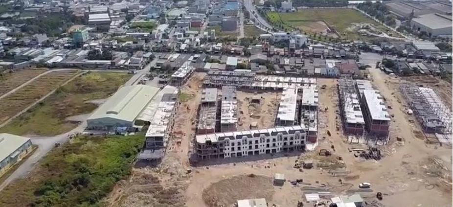 Hình ảnh thực tế dự án Solar City được chụp vào những ngày cuối tháng 3/2019