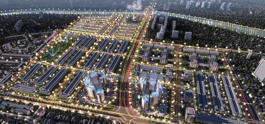 Image result for khu đô thị đẳng cấp phối cảnh