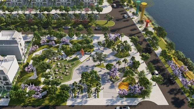 Công viên ven sông, một trong những tiện ích nổi bật tại khu đô thị La Villa Green City