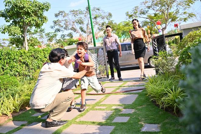 Không gian xanh tại khu đô thị La Villa Green City